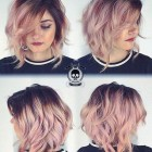 Short hairstyles and colours 2019