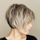 Short layered bobs 2019