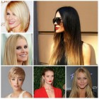 The latest hairstyles 2019