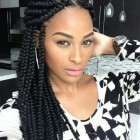 Braid plait hairstyles