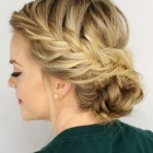 Braided hairdo