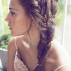 Braided hairdos for long hair