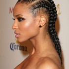 Braiding hair hairstyles