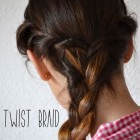 Cute easy braided updos