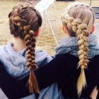 Cute hairstyles in braids