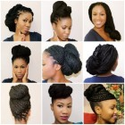 Different hairstyles to do with braids
