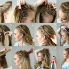 Different ways of braiding hair