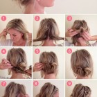 Easy braided hairdos
