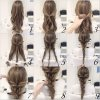 Easy hair plaits