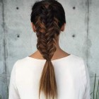 Hairdos with braids for long hair
