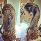 Hairstyles for long braided hair