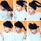 Hairstyles to do with braids