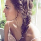 Long hair plait hairstyles