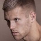 Men haircut short hair