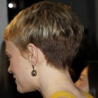 Pixie haircut back of head view