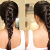 Plait of braided hair