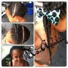 Quick hairstyles for braids