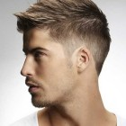 Short haircut style men
