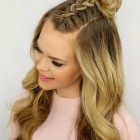 Top hair braiding