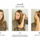 Ways to style short straight hair
