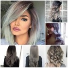 Colour hairstyles 2018