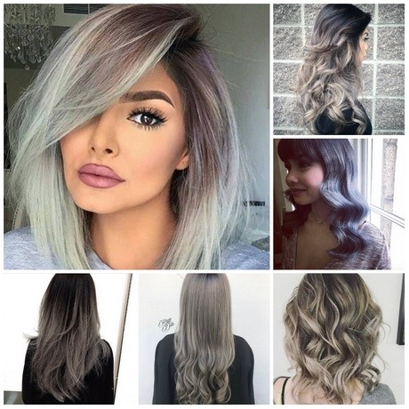 Hairstyles and color for fall 2018