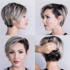 Long pixie haircut 2018