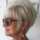 Short haircuts for women over 50 in 2018