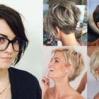 Short haircuts with bangs 2018
