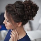 Ball hairstyles updo