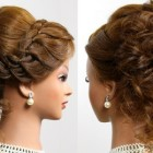 Beautiful updos for medium hair