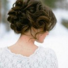 Bridal updos for long hair