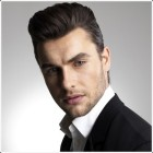 Bridegroom hairstyle