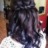 Bridesmaid hair for long hair