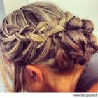 Bridesmaid pin up hairstyles