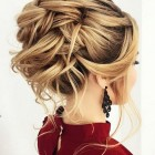 Bridesmaid updos for long hair