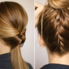Cool buns for medium hair