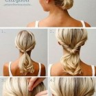 Cute easy formal hairstyles