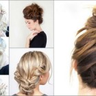 Different hair updos