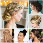 Different updo hairstyles