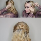 Easy updos for mid length hair