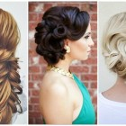 Elegant updos for long hair