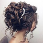 Elegant updos for medium length hair