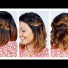 Everyday hairdos for short hair
