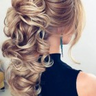 Formal hairdos for long hair
