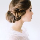 Formal wedding hair