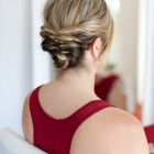 Fun updos for short hair
