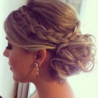 Grad hairstyles updos