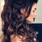Hair updos for long curly hair