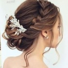 Hair updos for wedding bridesmaids
